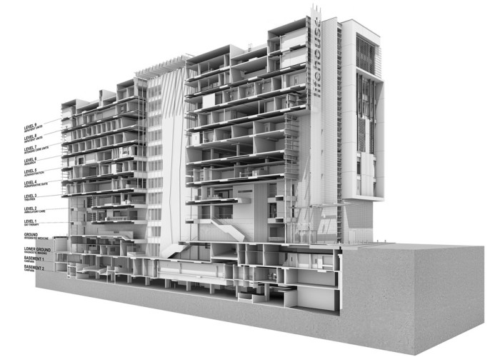 Chris O'Brien Lifehouse by HDR Rice Daubney Rendering