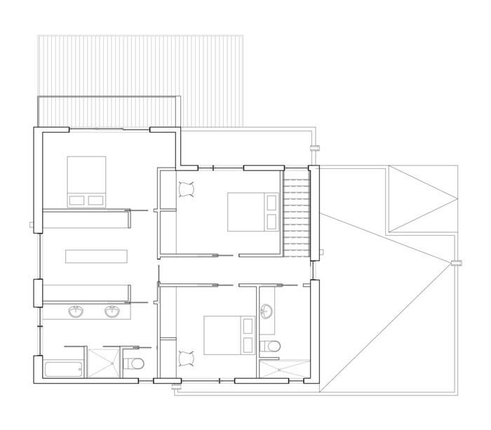 Lausanne House by Hatem+D Second Floor Plan
