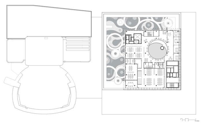 Library of Birmingham by Mecanoo - Level 5 Plan