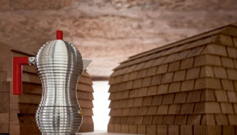 Pulcina by Michele de Lucchi for Alessi in collaboration with illycaffè
