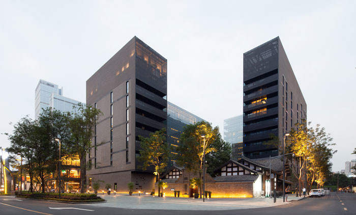 The Temple House by Make Architects
