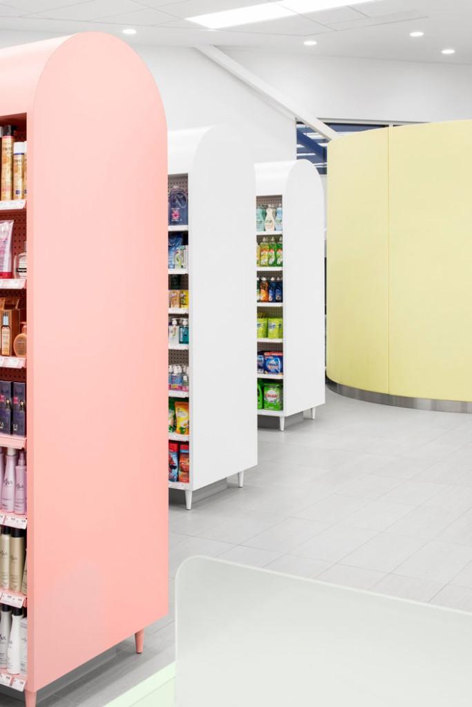 Uniprix Pharmacy by Jean de Lessard