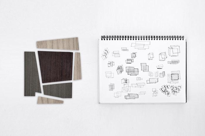 Booleanos Cabinet by Joel Escalona for Roche Bobois - development