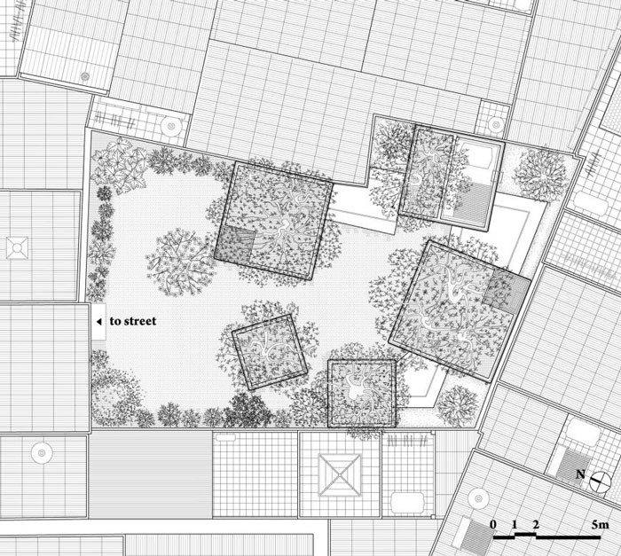 House for Trees by Vo Trong Nghia Architects - Site Plan