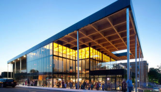 Mont Laurier Multifunctional Theatre by Les architectes FABG