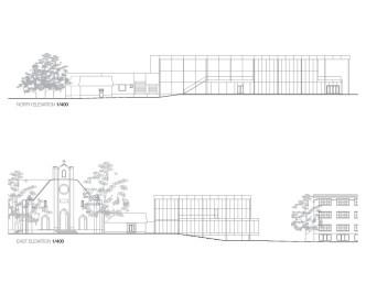 Mont Laurier Multifunctional Theatre by Les architectes FABG - Elevations
