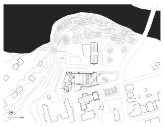 Mont Laurier Multifunctional Theatre by Les architectes FABG - site