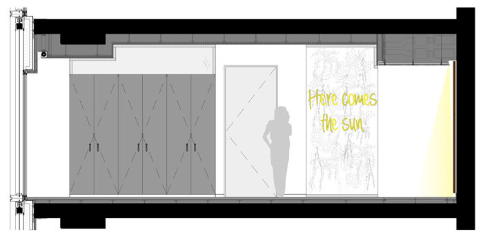 Phoenix Real Estate Office Interior Design by Ippolito Fleitz - Elevation