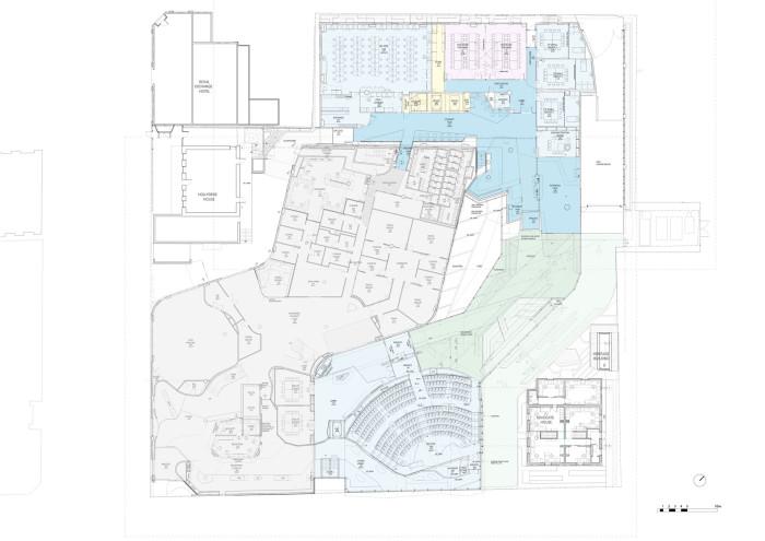 Level 1 Plan - Medical Science 2 of University of Tasmania by Lyons