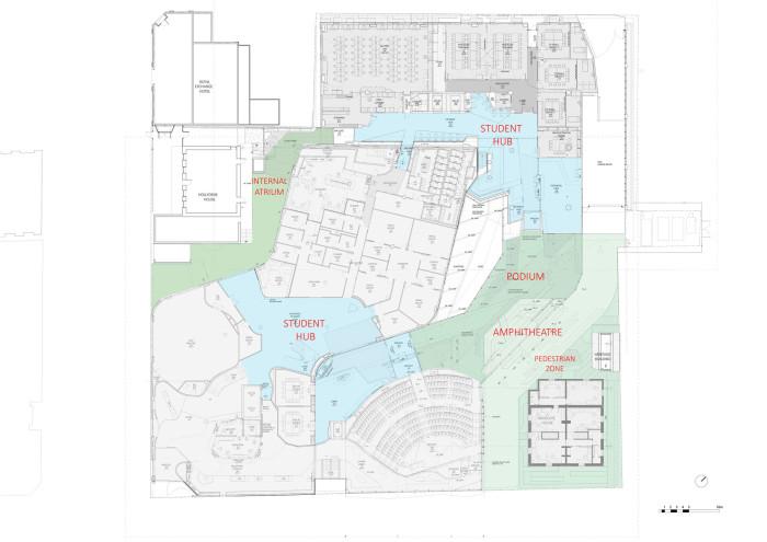 Level 1 Urban Plan - Medical Science 2 of University of Tasmania by Lyons