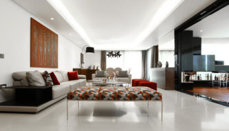 Apartment rez-of-garden in Rabieh by Roland Helou Design (ROHD)
