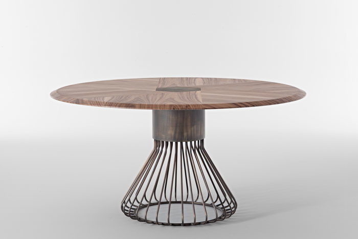Rosolina Table by Mauro Lipparini for Casa International
