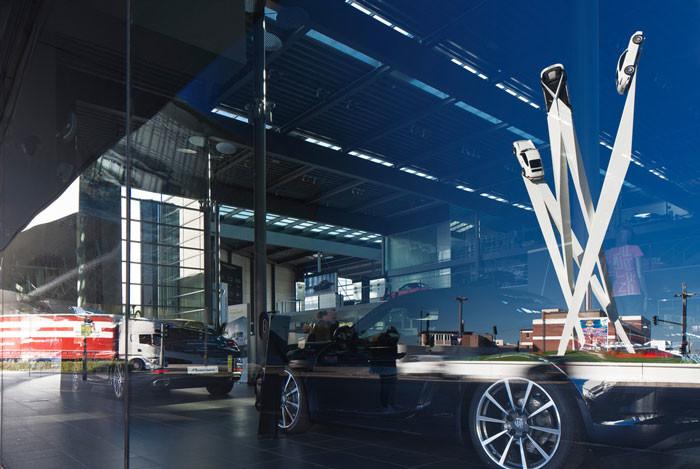 Porscheplatz Sculpture by Gerry Judah