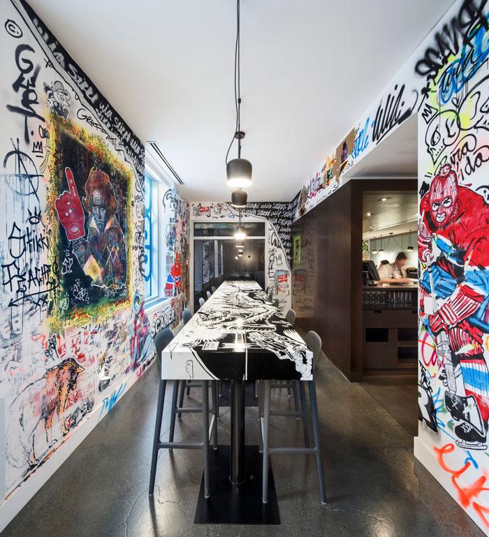Être Avec Toi Restaurant by MASSIVart, W Montréal, BPC, SID LEE Architecture and Ivanhoé Cambridge