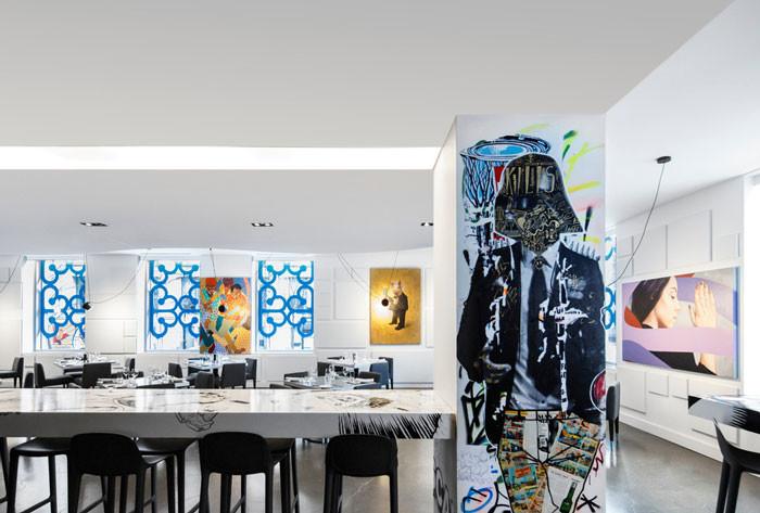 Être Avec Toi Restaurant mixes art and lifestyle