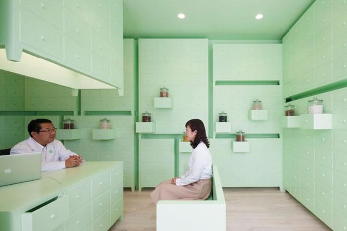 SUMIYOSHIDO kampo lounge by id inc.