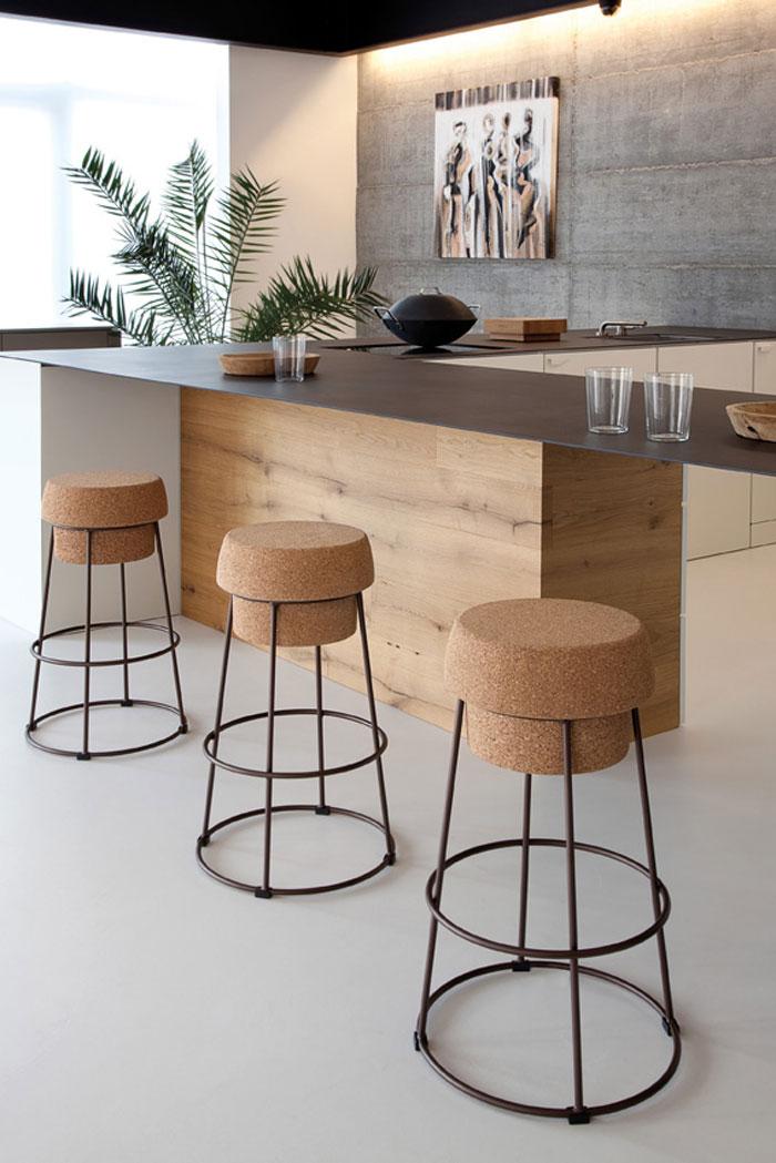 Bouchon Stool by Radice Orlandini Design Studio for Domitalia