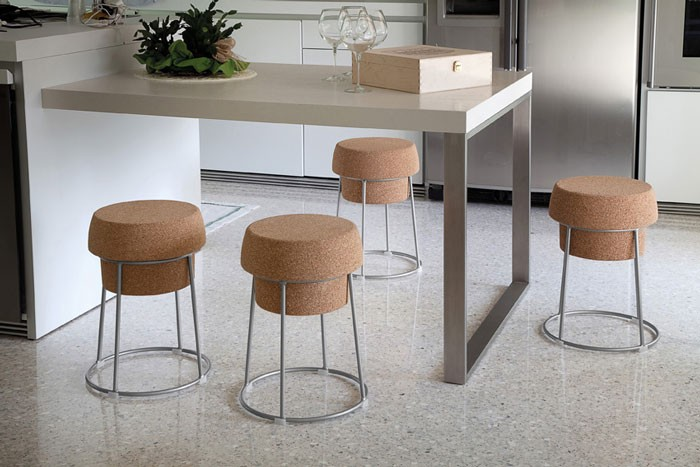 Bouchon Stool by Radice & Orlandini for Domitalia
