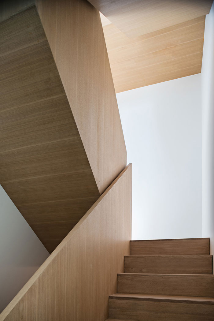 Heathdale Residence by TACT Design INC. - Stair Detail