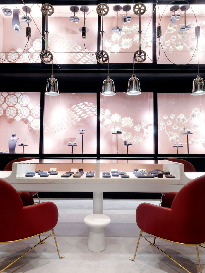 Hayon Studio Designs Nirav Modi Flagship Boutique Design