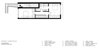 François-René project by Maître Carré & Architecture Open Form - 2nd Floor