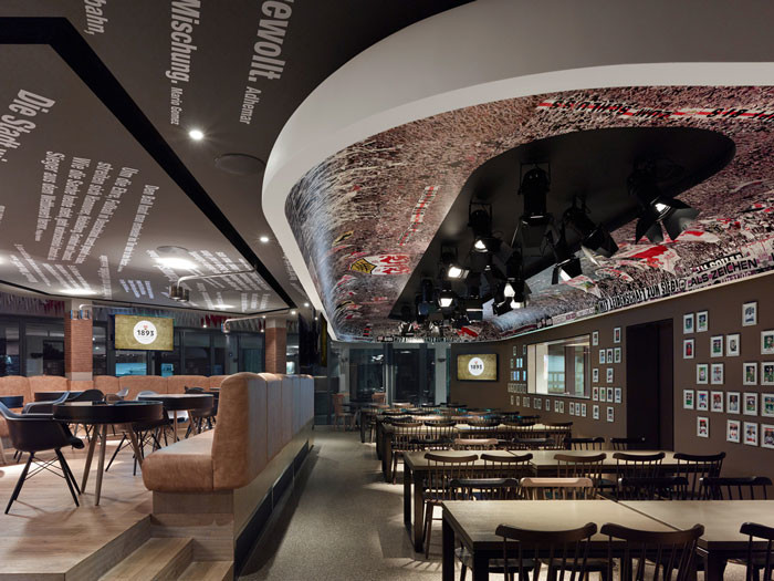"The ""1893"" – VfB Stuttgart club restaurant"