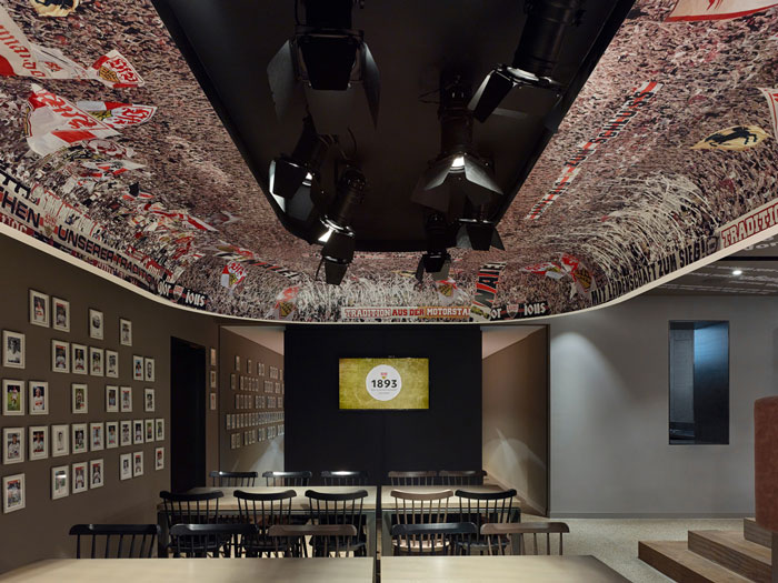 "The ""1893"" – VfB Stuttgart club restaurant by Ippolito Fleitz"