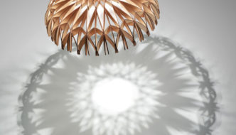 Benedetta Tagliabue designs sculptural pendant for Bover