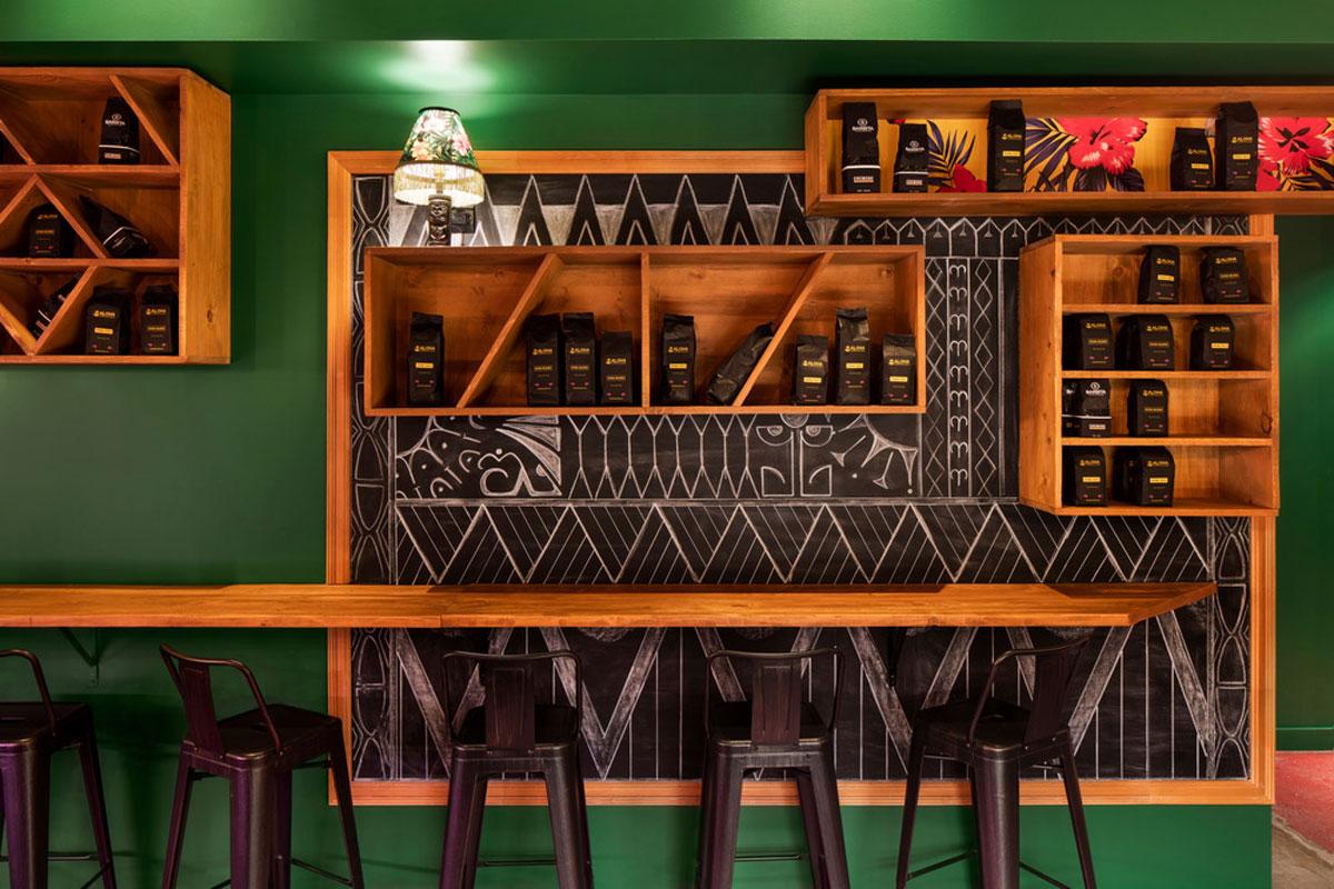 Aloha Espresso Bar by Jean de Lessard