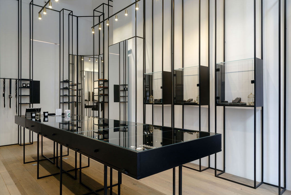 Rg A Design Fine Jewellery Concept Store Located In Downtown Beirut Design Chronicle